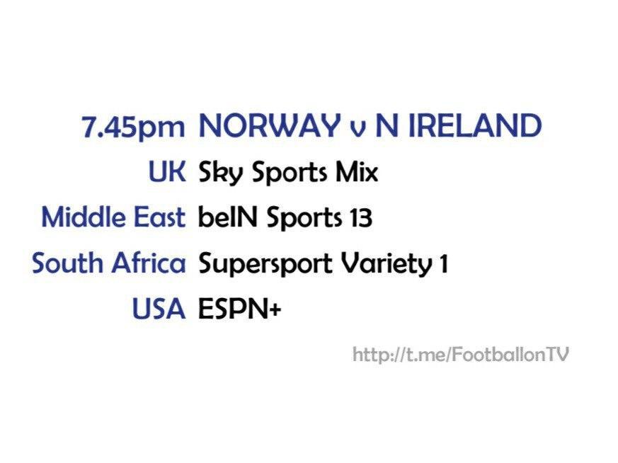 UEFA Nations League 14-10-20 - Norway v Northern Ireland