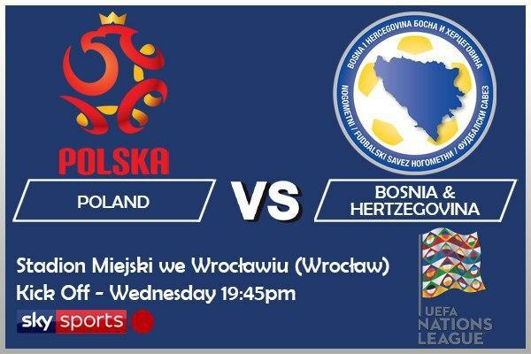 UEFA Nations League 14-10-20 - Poland v Bosnia & Hertzegovina
