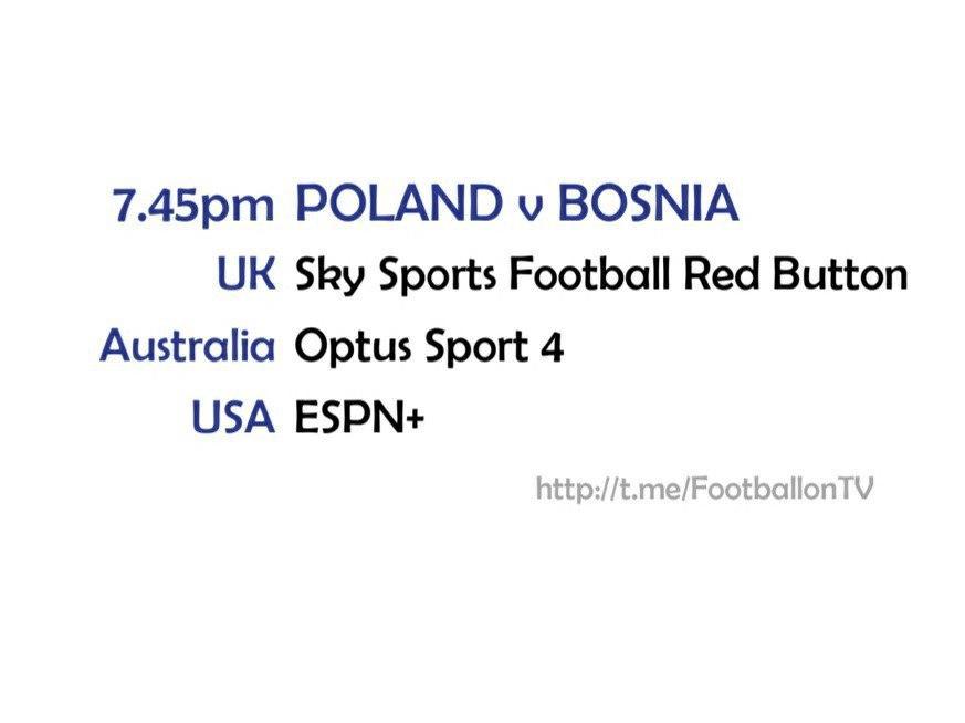 UEFA Nations League 14-10-20 - Poland v Bosnia & Herzegovina