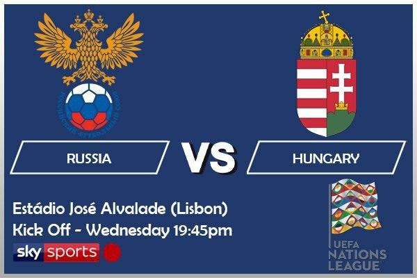 UEFA Nations League 14-10-20 - Russia v Hungary
