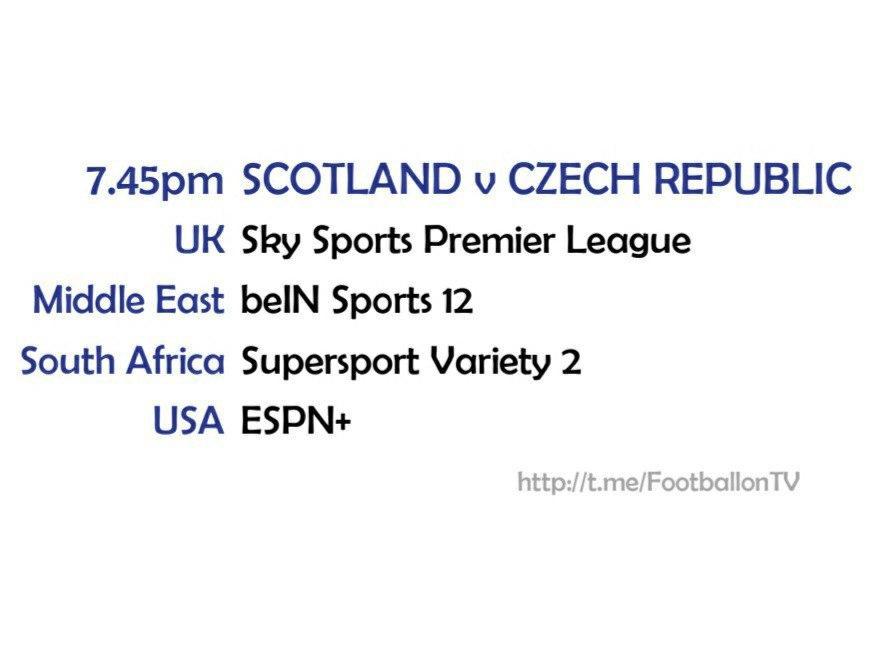 UEFA Nations League 14-10-20 - Scotland v Czech Republic