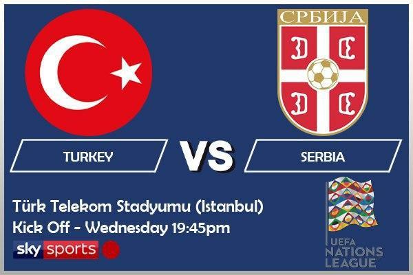 UEFA Nations League 14-10-20 - Turkey v Serbia