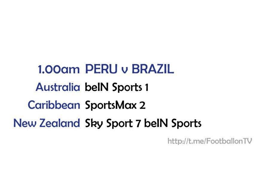 FIFA World Cup 2022 - Peru v Brazil