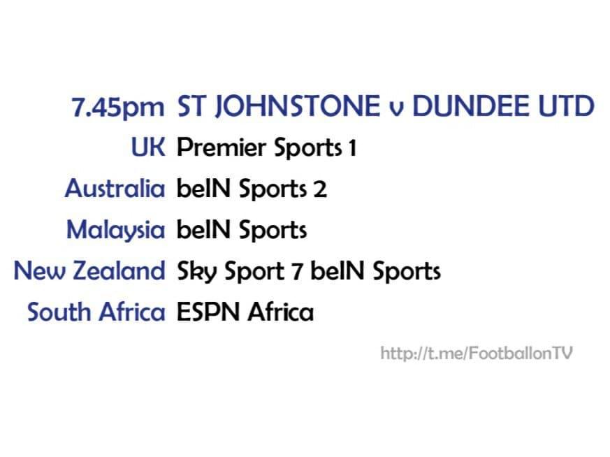 St Johnson v Dundee