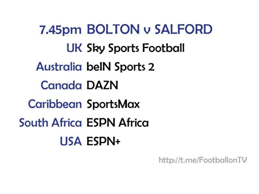Bolton v Salford