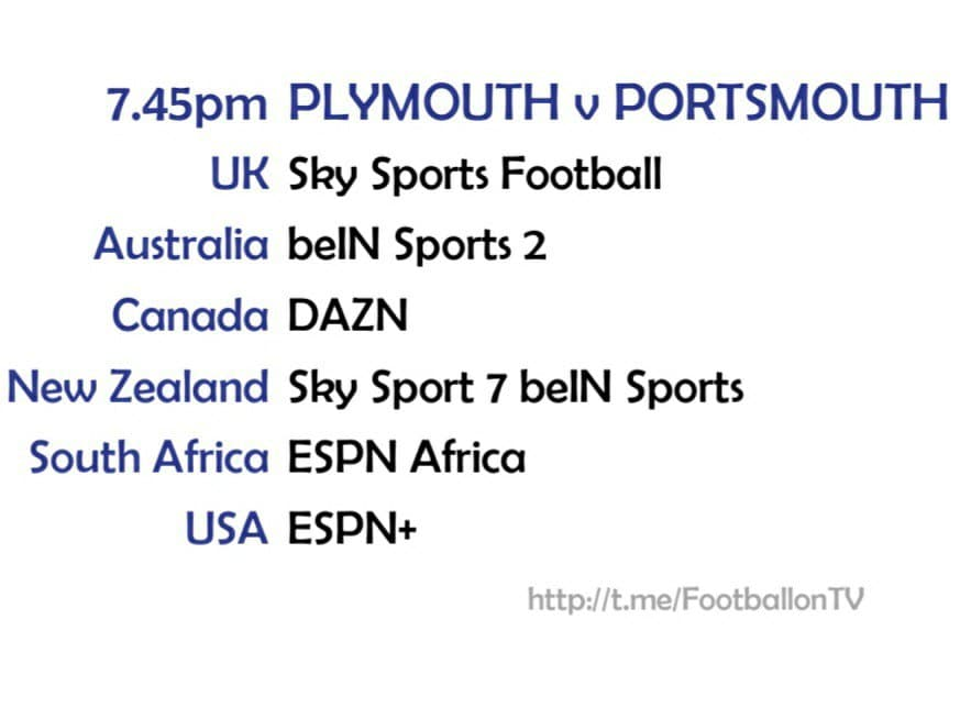 League One: Plymouth v Portsmouth