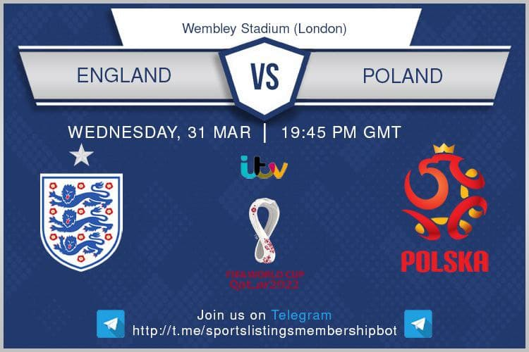 World Cup Qualifiers 31/3/2021 - England v Poland