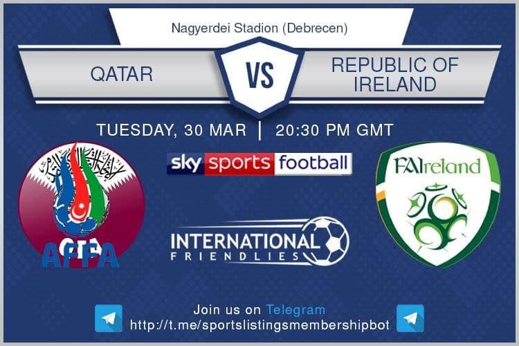 World Cup Qualifiers 30/3/2021 - Qatar v Republic of Oreland