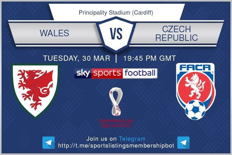World Cup Qualifiers 30/3/2021 - Wales v Czech Republic