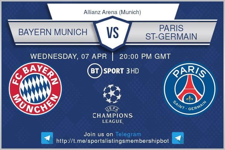 Champions League & Others 7/4/2021 - Bayern Munich v Paris St-Germain