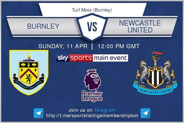 Premier League & Others 11/4/2021 - Burnley v Newcastle