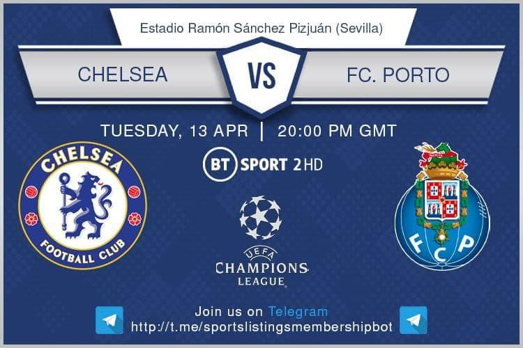 Champions League 13/4/2021 - Chelsea v Porto