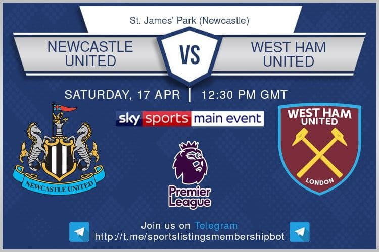 Premier League & Others 17/4/2021 - Newcastle United v West Ham United