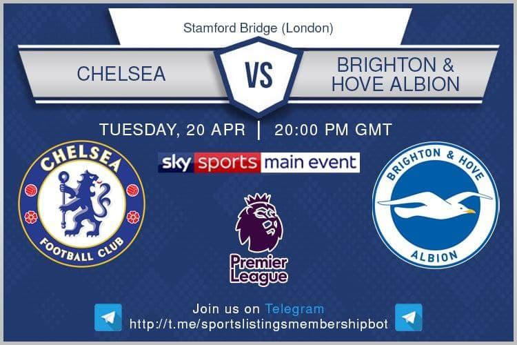 Premier League 20/4/2021 - Chelsea v Brighton