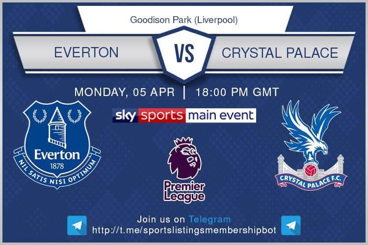 Premier League & Others 5/4/2021 Everton v Crystal Palace