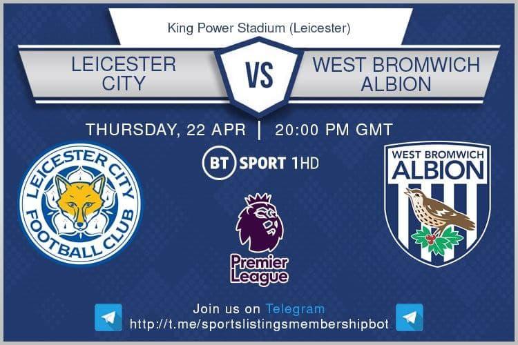 Premier League 22/4/2021 - Leicester v West Bromwich Albion