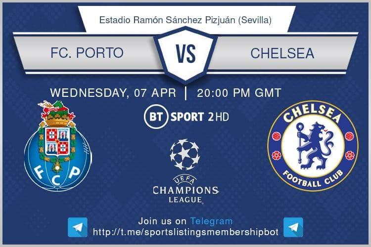 Champions League & Others 7/4/2021 -Porto v Chelsea