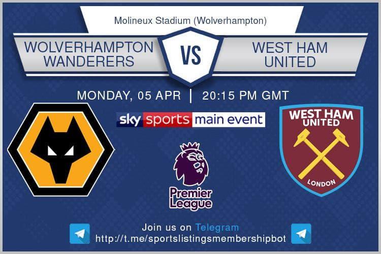 Premier League & Others 5/4/2021 Wolves v West Ham