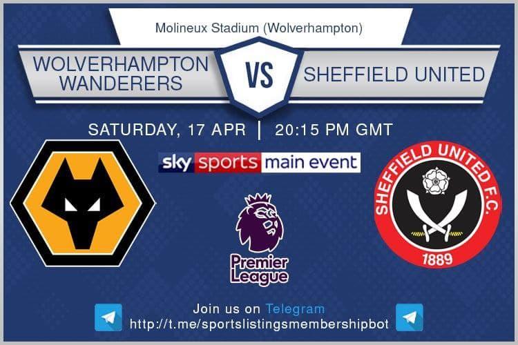 Premier League & Others 17/4/2021 - Wolves v Sheffield United