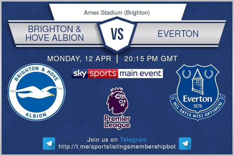 Premier League & Others 12/4/2021 - Brighton & Hove Albion v Everton