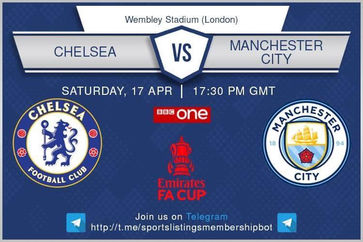 Premier League & Others 17/4/2021 - Chelsea v Manchester City
