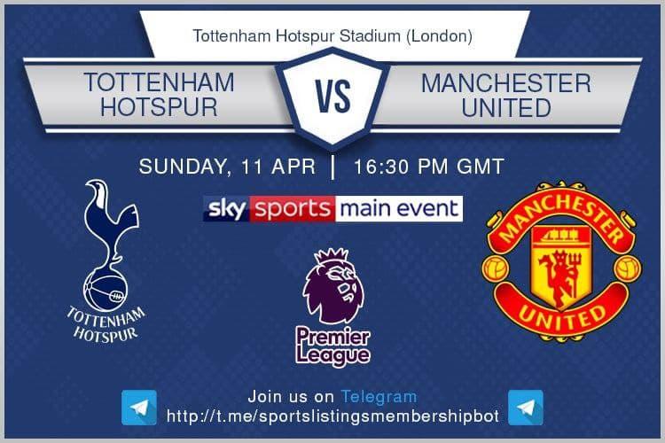 Premier League & Others 11/4/2021 - Tottenham v Manchester United