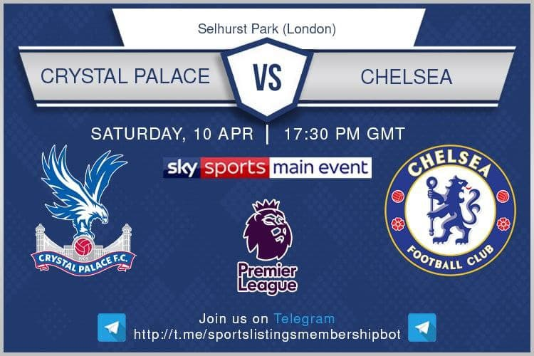 Premier League & Others 10/4/202 - Crystal Palace v Chelsea