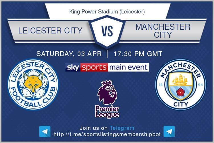 Premier League & Others 3/4/2021 Leicester City v Manchester City