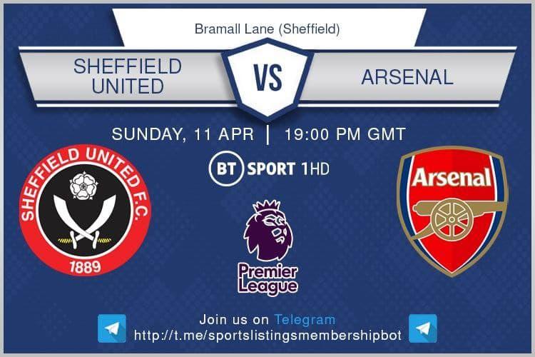 Premier League & Others 11/4/2021 - Sheffield United v Arsenal