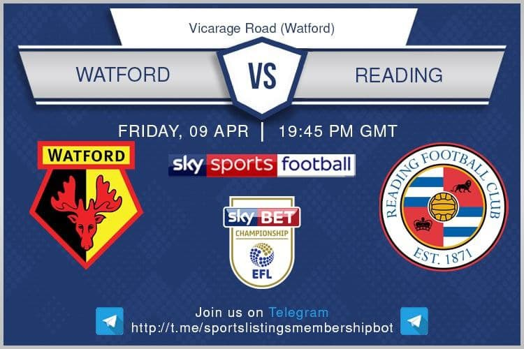 Premier League & Others 9/4/2021 -Watford v Reading