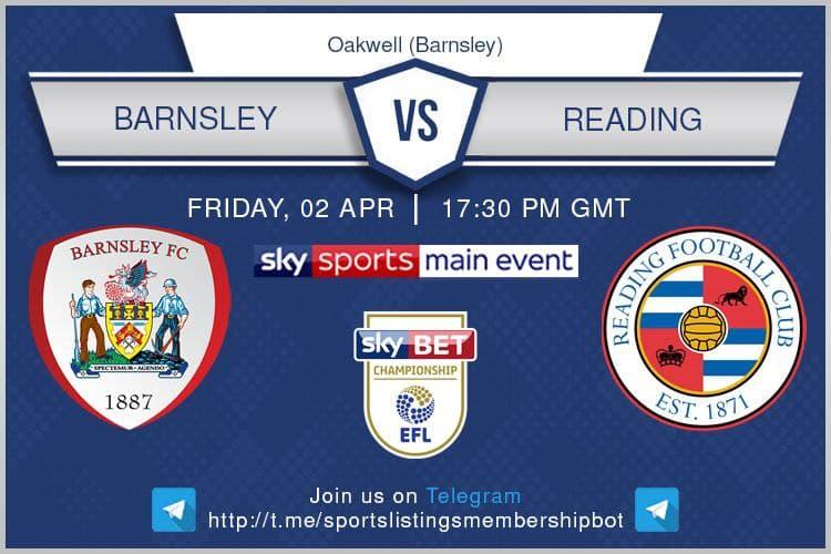 Championship & Others 2/4/2021 - Barnsley v Reading
