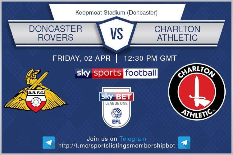 Championship & Others 2/4/2021 Doncaster v Charlton