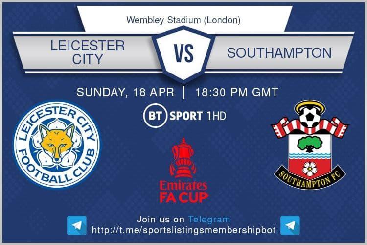Premier League & Others 18/4/2021 - Leicester City v Southampton