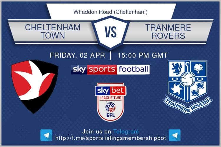 Championship & Others 2/4/2021 - Cheltenham v Tranmere