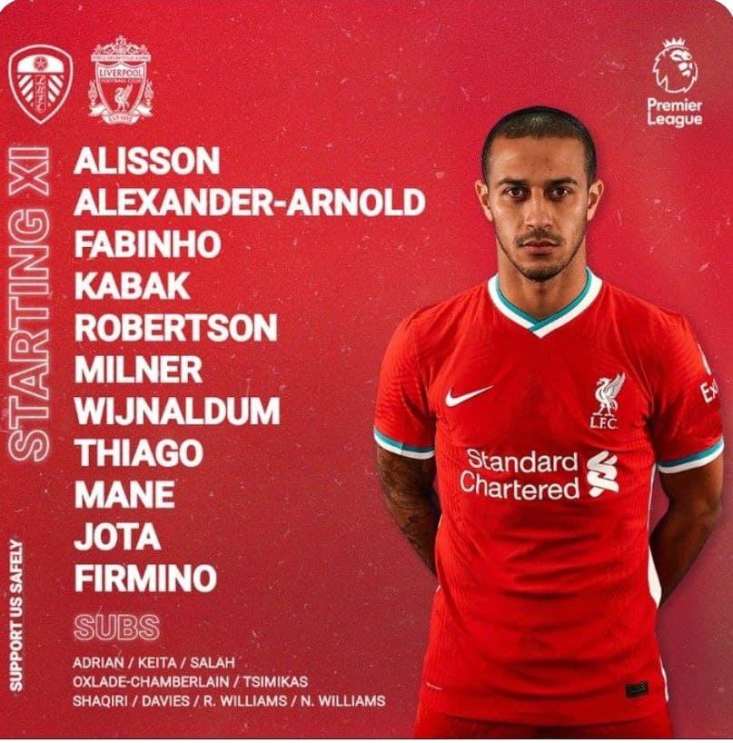 Premier League 19/4/2021 - Liverpool