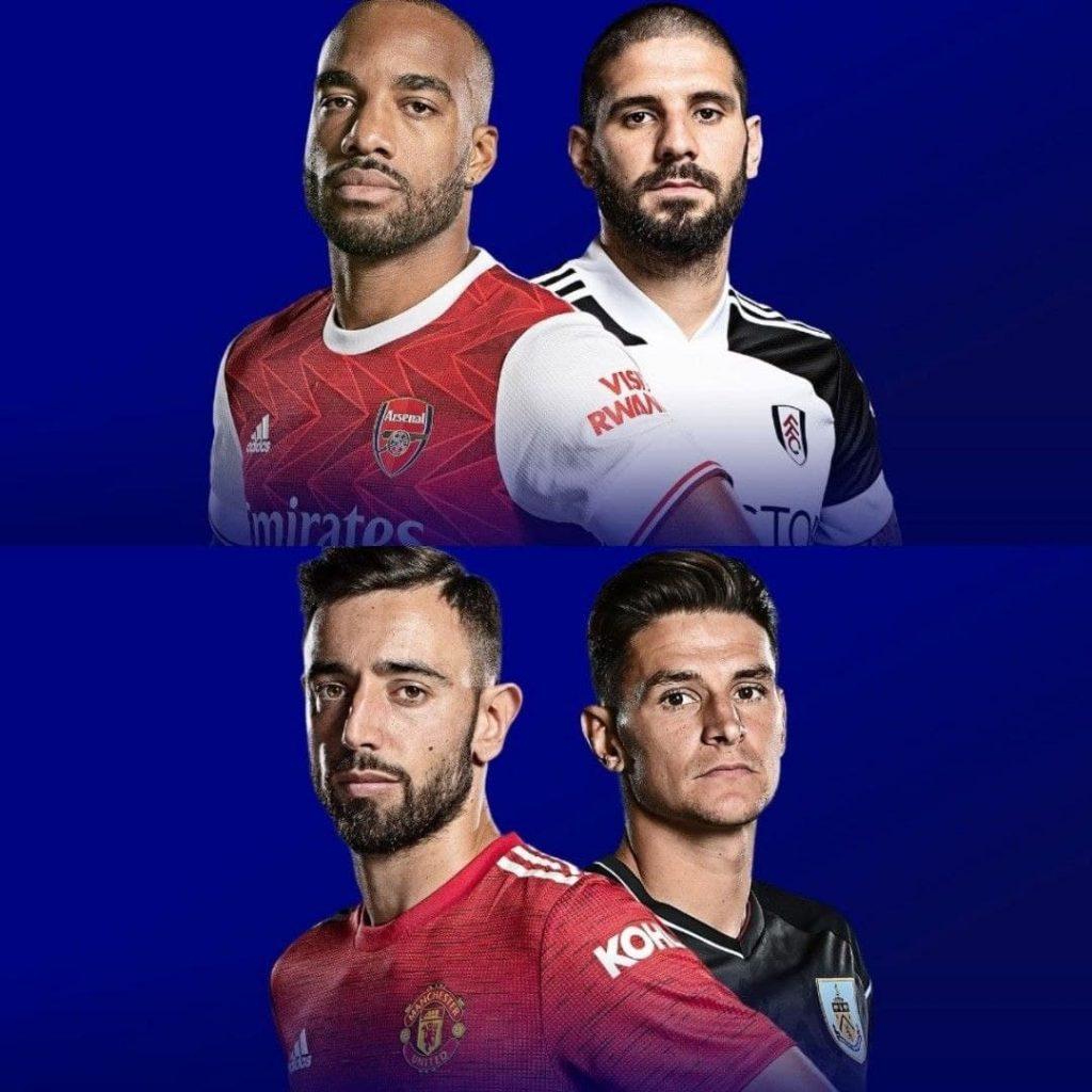 Premier League 18/4/2021 - Arsenal v Fulham & Manchester United v Burnley