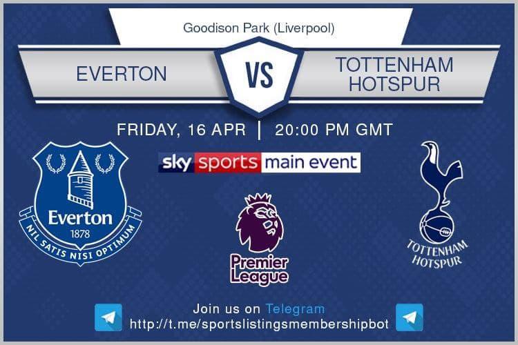 Premier League & Others 16/4/2021 - Everton v Tottenham