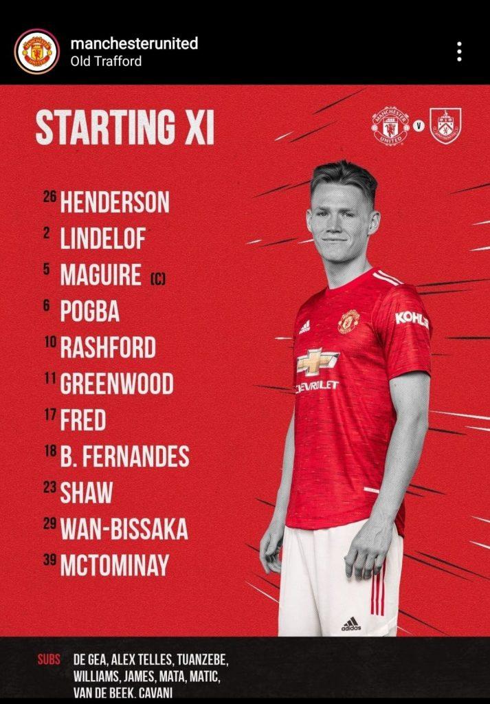 United Line-up