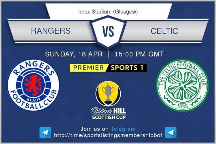 Premier League & Others 18/4/2021 -Rangers v Celtic