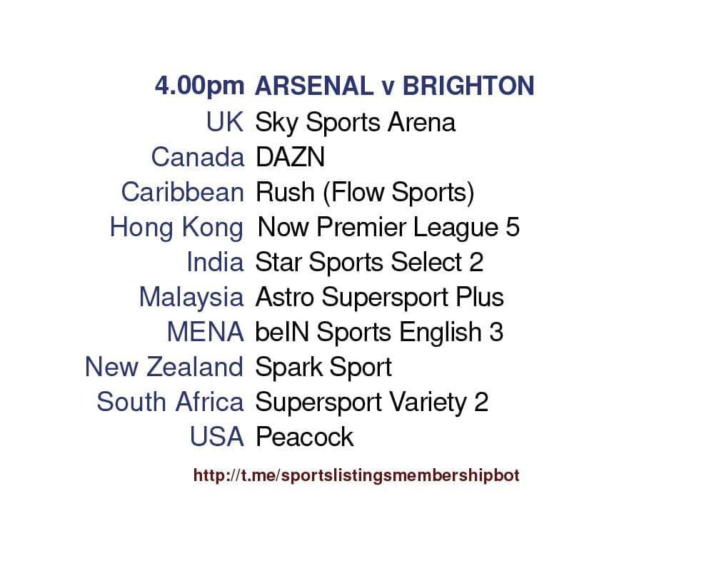 Premier League 23/5/2021 - Arsenal v Brighton