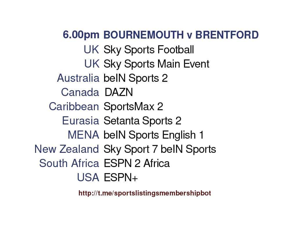 Championship 17/5/2021 -Bournemouth v Brentford.