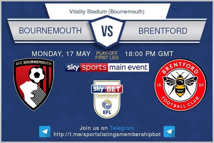 Championship 17/5/2021 - Bournemouth v Brentford.