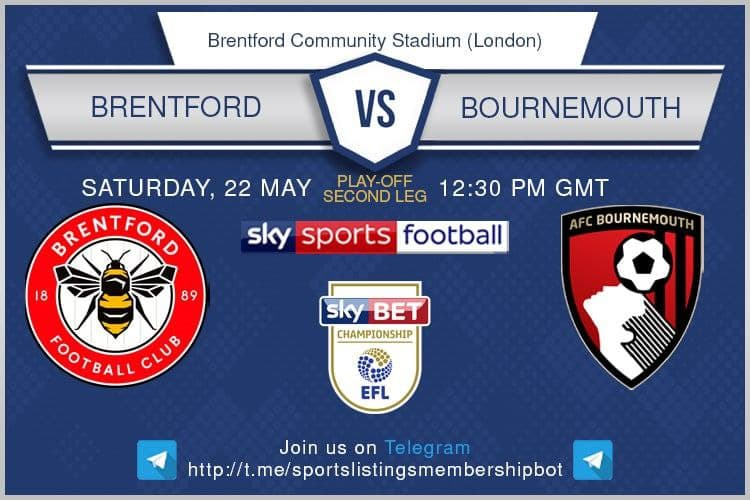 Championship Playoffs 22/5/2021 - Brentford v Bournemouth
