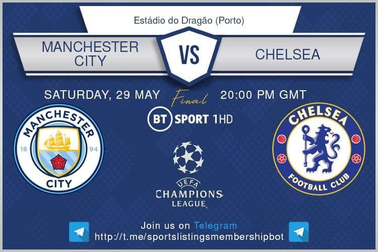 Champions League 29/5/2021 - Manchester City v Chelsea