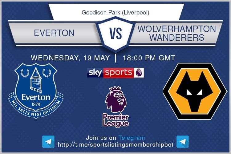 Premier League 19/5/2021 - Everton v Wolves