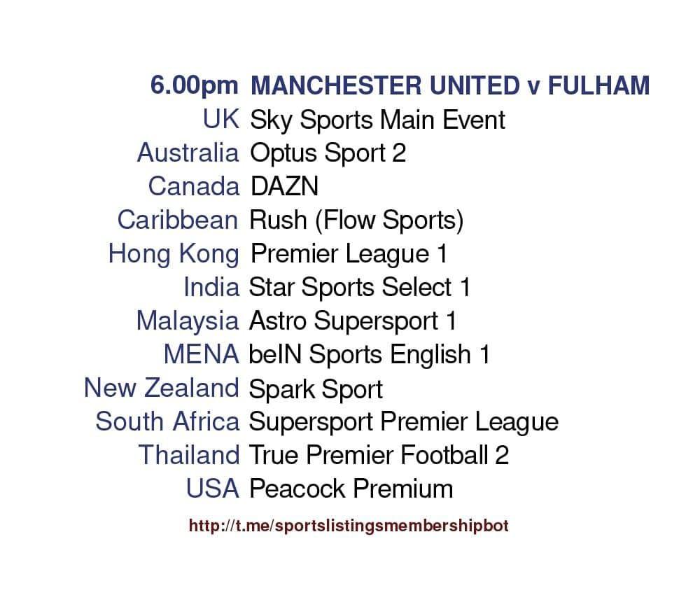 Premier League 18/5/2021 - Manchester United v Fulham