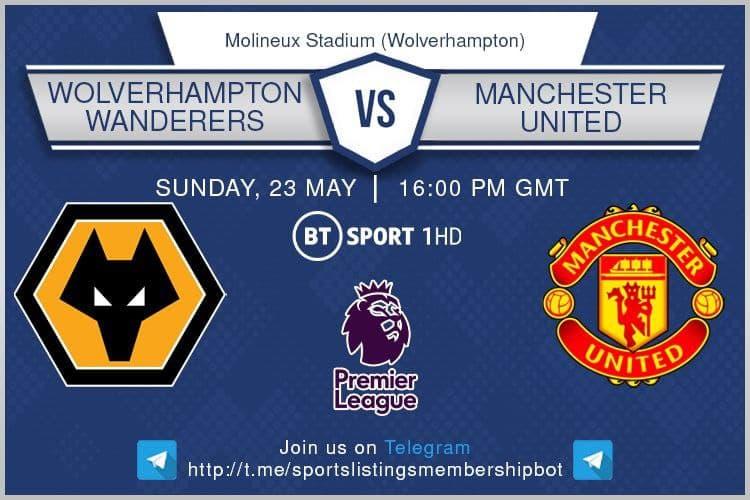 Premier League 23/5/2021 - Wolves v Manchester United