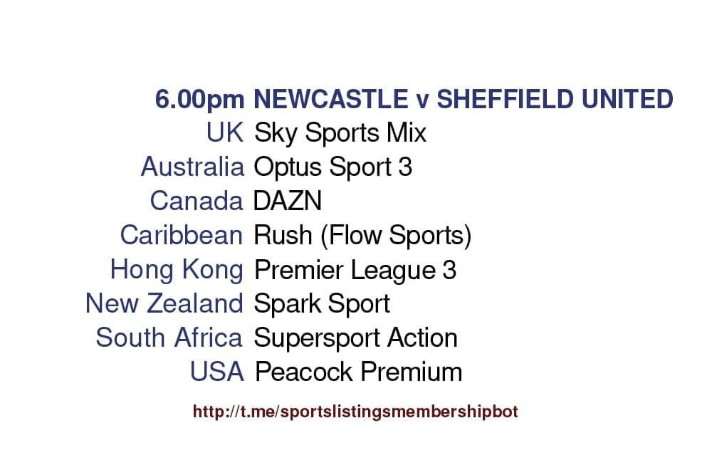 Premier League 19/5/2021 - Newcastle v Sheffield United