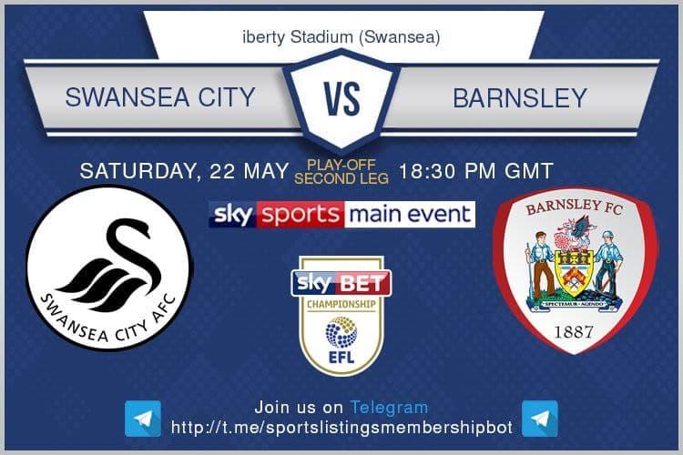 Championship Playoffs 22/5/2021 -Swansea v Barnsley