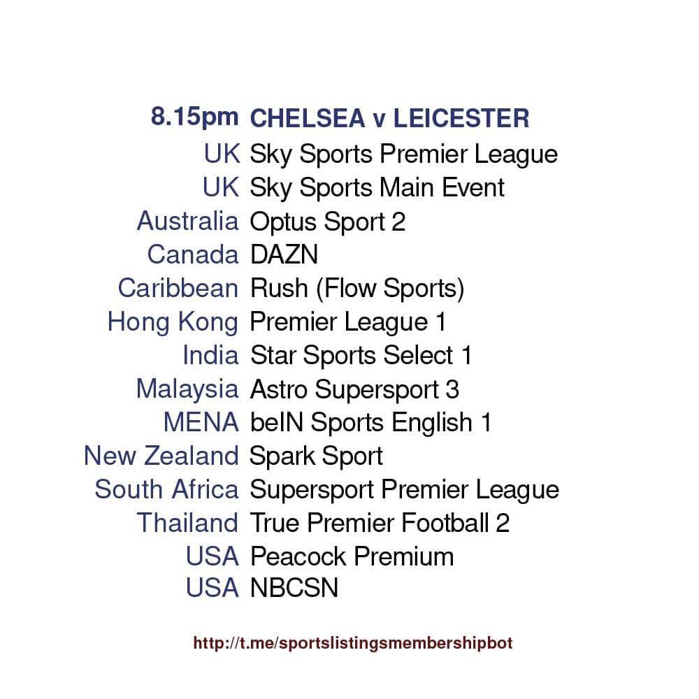 Premier League 18/5/2021 - Chelsea v Leicester